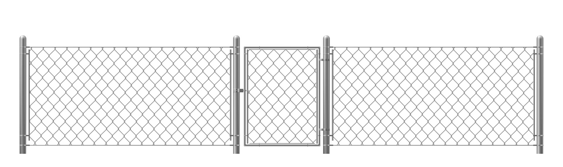 Metal Wicket Gate Fence